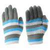Hy5 Magic Striped Gloves in Blue/Grey